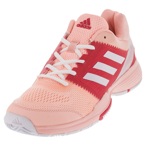 Women`s Barricade Club Tennis Shoes Haze Coral and White