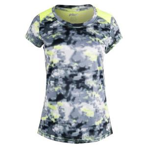 Women`s Short Sleeve Interlock Tennis Top
