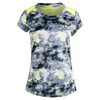 Women`s Short Sleeve Interlock Tennis Top LASER_LEMON