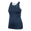 ATHLETIC DNA Women`s Mesh Back Racerback Tennis Tank Dress Blue