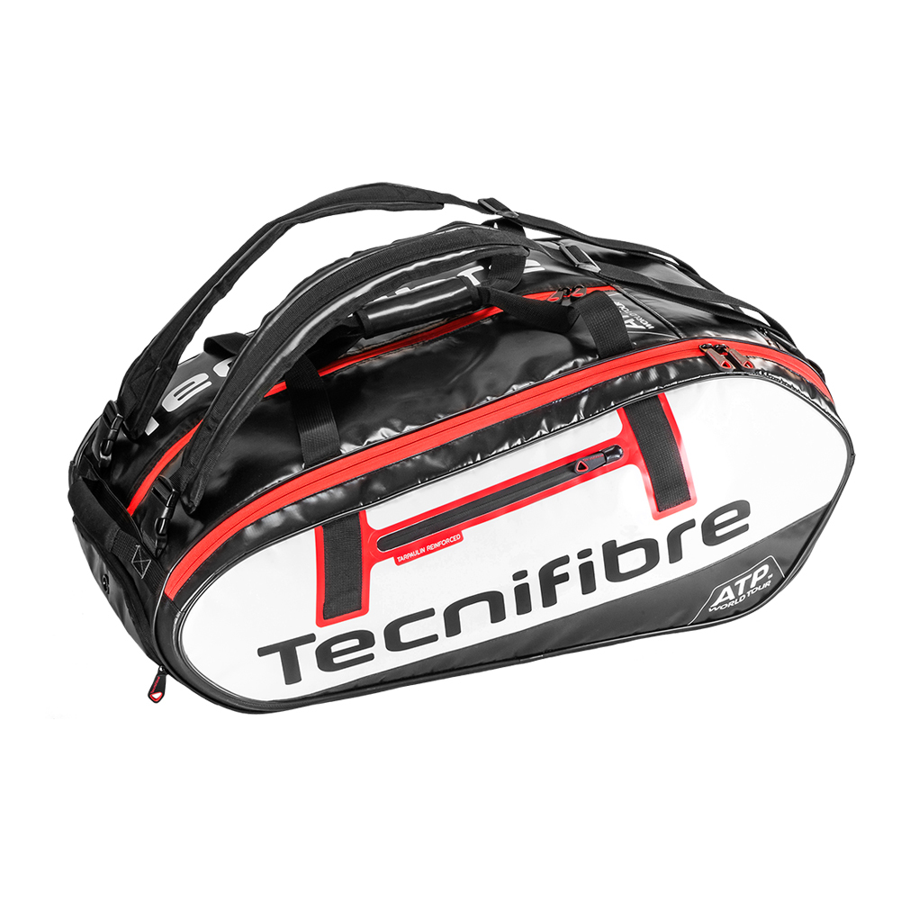 Pro Endurance 15r Atp Tennis Bag White And Black