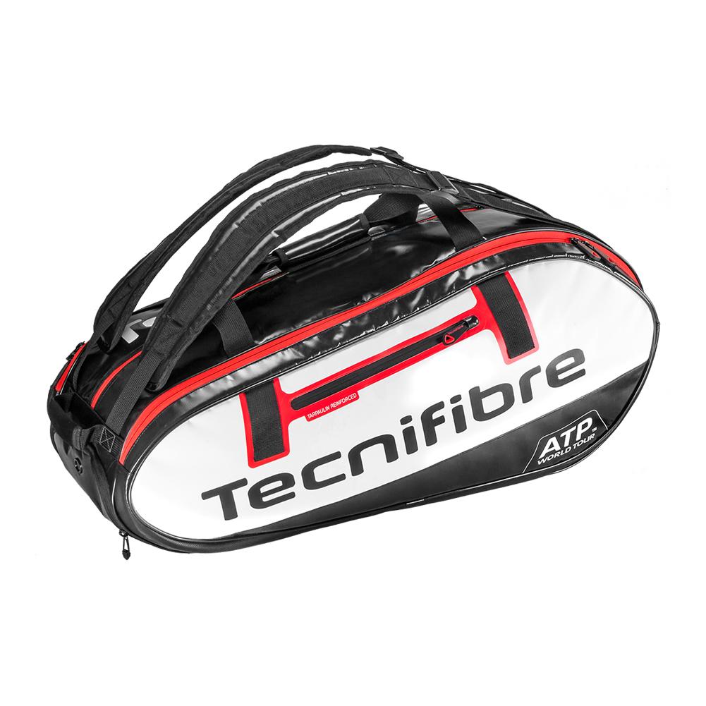 Pro Endurance 10r Atp Tennis Bag White And Black