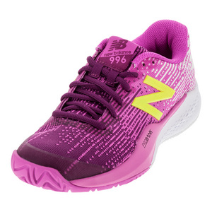 Women`s 996v3 D Width Tennis Shoes Jewel and Firefly