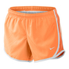 NIKE Girls` 3.5 Inch Tempo Short Peach Cream