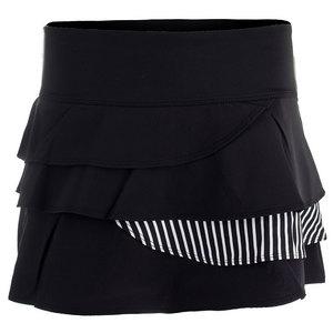 Women`s Genevieve 13.5 Inch Tennis Skort Black