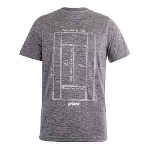 Men`s Interlock Graphic Tennis Tee