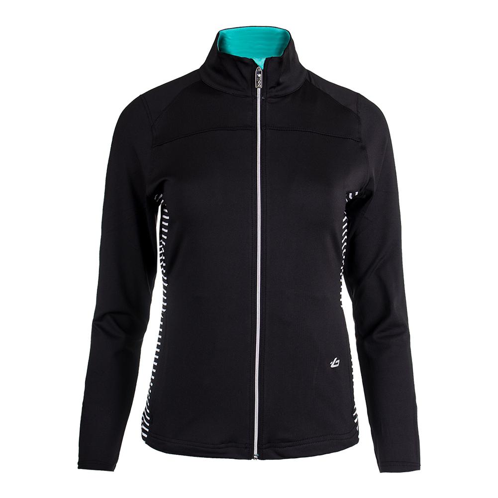 Women's Genevieve Tennis Jacket Black
