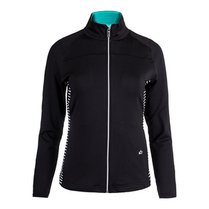Women`s Genevieve Tennis Jacket Black