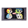 HELLO KITTY Avengers Team Split Personality Tennis Towel 13 X 24