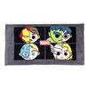 HELLO KITTY Avengers Team Split Personality Tennis Towel 13 X 24