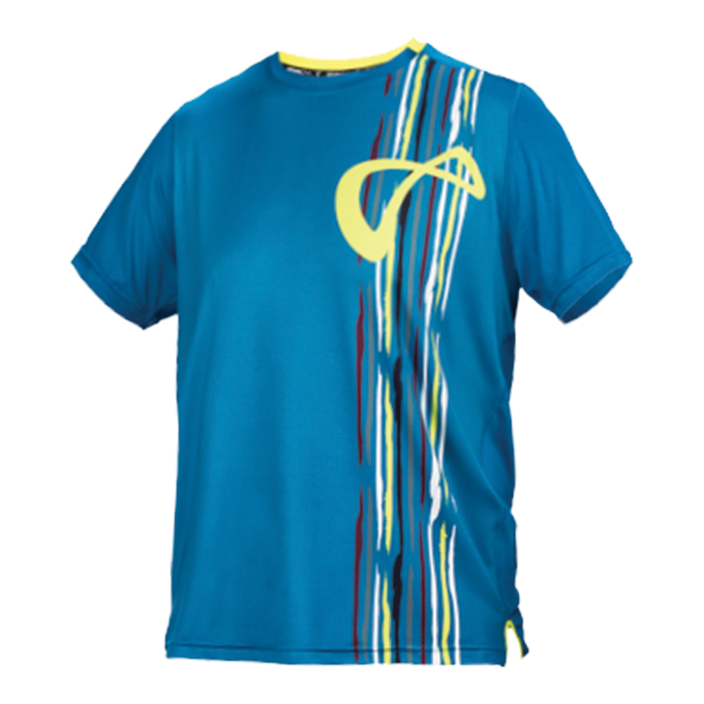 Boys ` Mesh Back Rainforest Tennis Crew Moroccan Blue