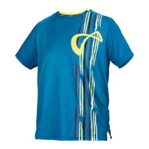 Boys` Mesh Back Rainforest Tennis Crew Moroccan Blue