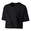Women`s Court Tennis Crop Tee 010_BLACK
