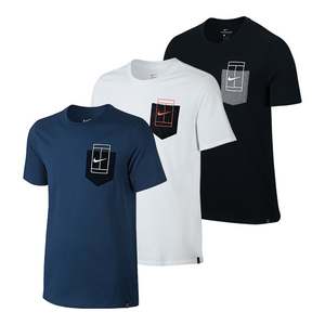 Men`s Court Pocket Tennis Tee