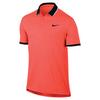 Men`s Court Team Dry Tennis Polo 877_HYPER_ORANGE/BK