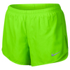 Women`s Dry Tempo Running Short 300_ELECTRO_GREEN