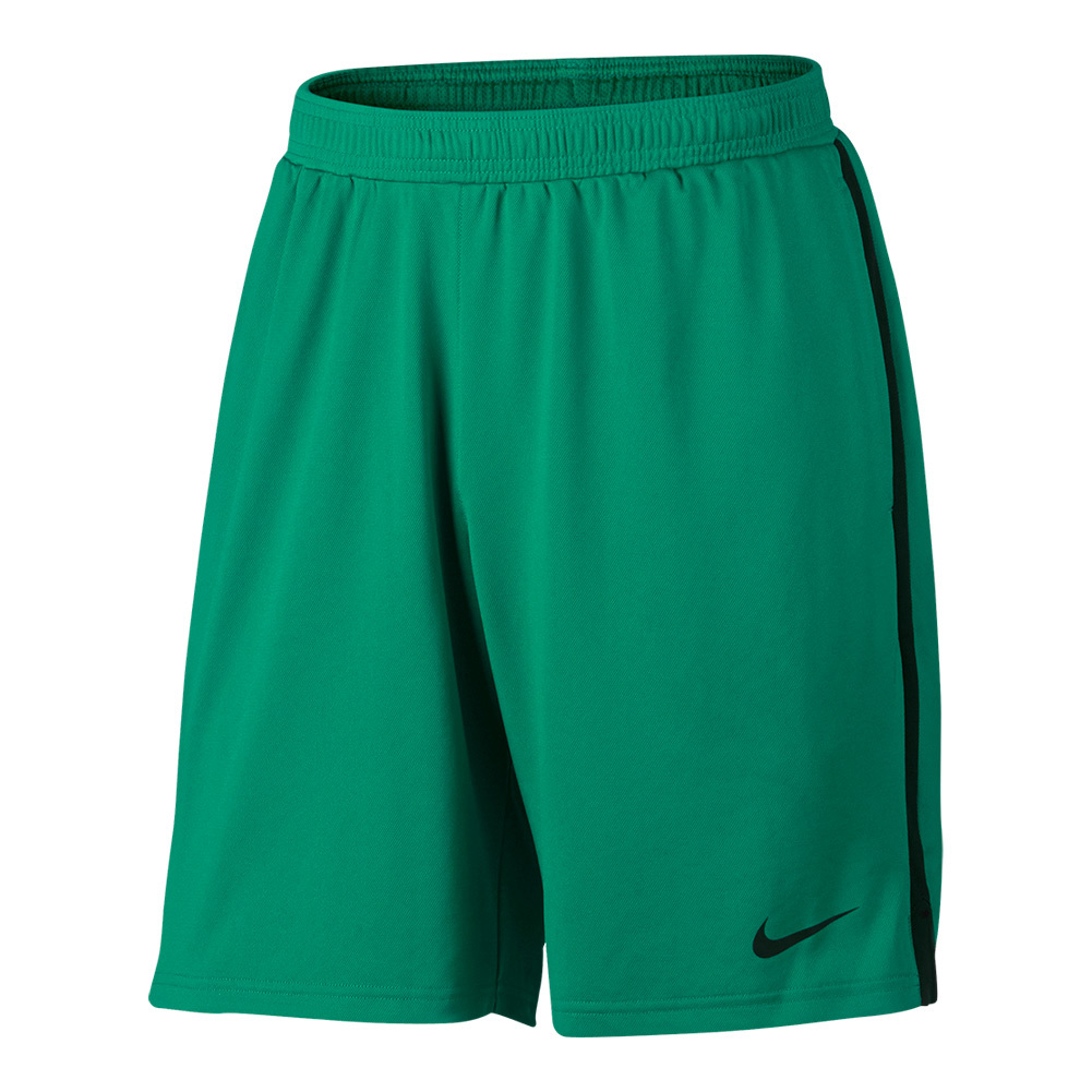Men's Court Dry Knit 9 Inch Tennis Short Teal Charge