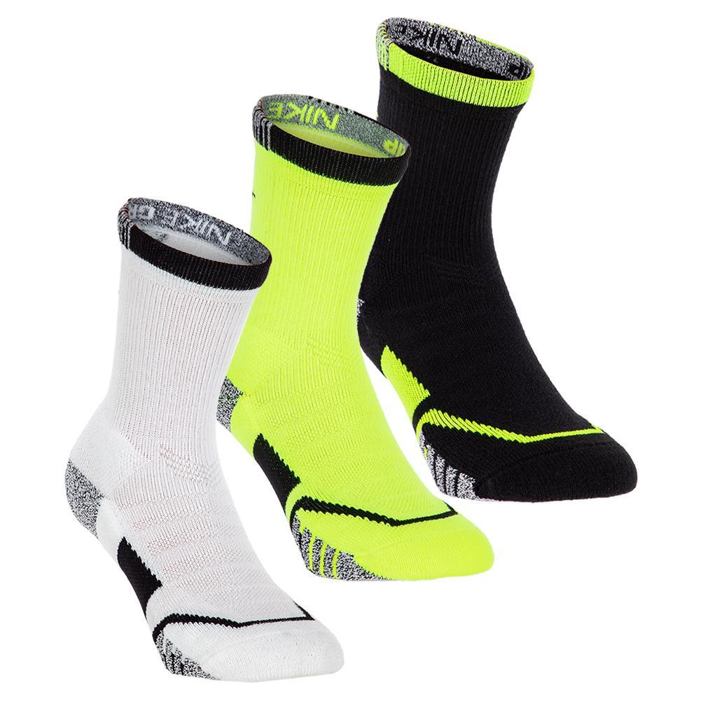 Grip Elite Crew Tennis Socks