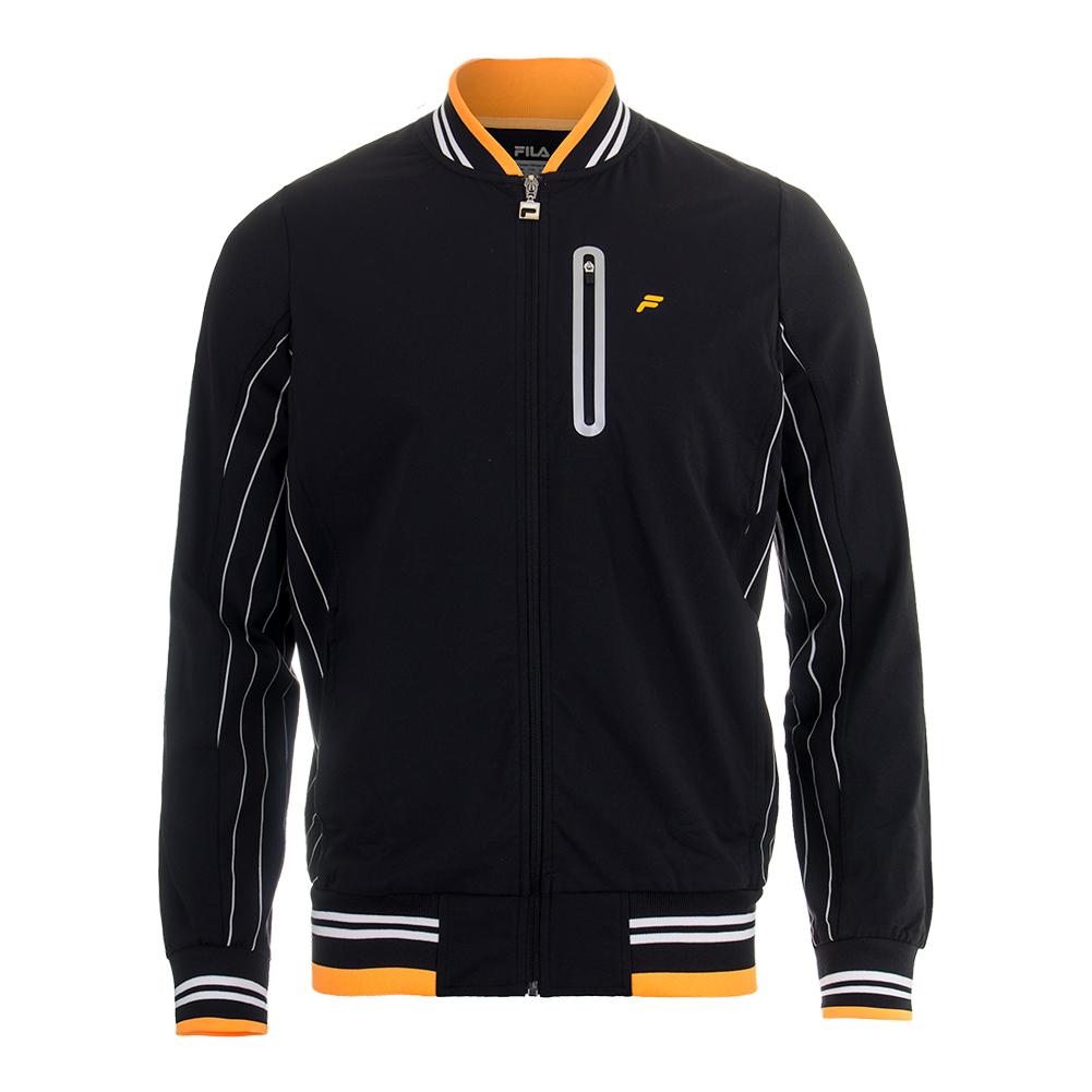 Men's Platinum Tennis Jacket Black