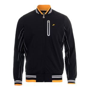 Men`s Platinum Tennis Jacket Black