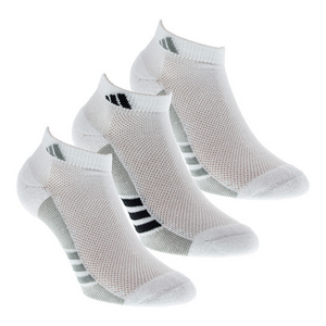 Women`s Superlite Climacool Low Cut Socks 3 Pack White and Gray Size 5-10
