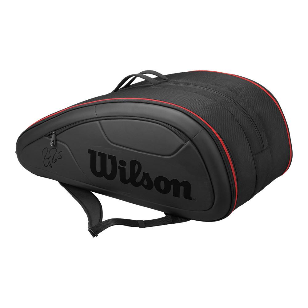 Federer Super Dna 12 Pack Tennis Bag With Solar Panel