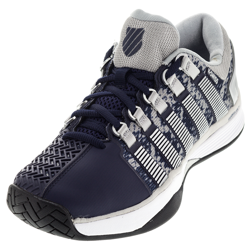 Men's Hypercourt Tennis Shoes Navy And Silver