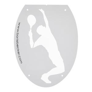 Silhouette Tennis Stencil