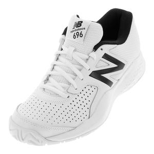 Men`s 696v3 D Width Tennis Shoes White