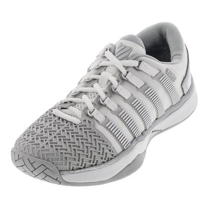 Women`s HyperCourt 2.0 Tennis Shoes White and Glacier Gray