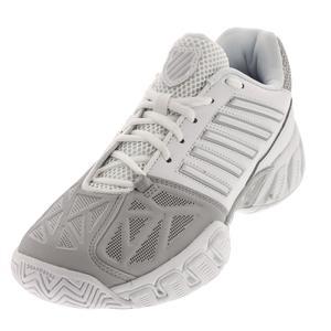 Women`s BigShot Light 3 Tennis Shoes White and Silver