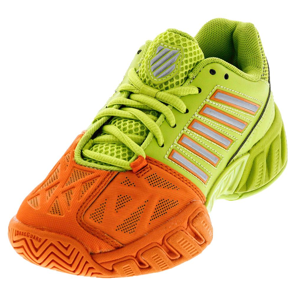 Juniors ` Bigshot Light 3 Tennis Shoes Popsicle And Lime Punch