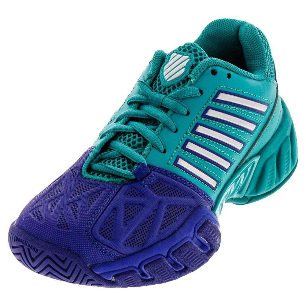 Juniors ` Bigshot Light 3 Tennis Shoes Pigment Blue And Columbia