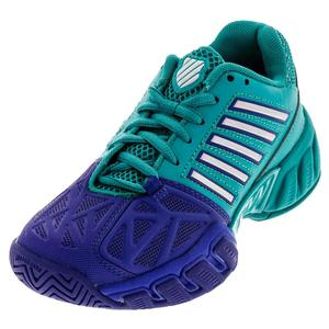 Juniors` BigShot Light 3 Tennis Shoes Pigment Blue and Columbia