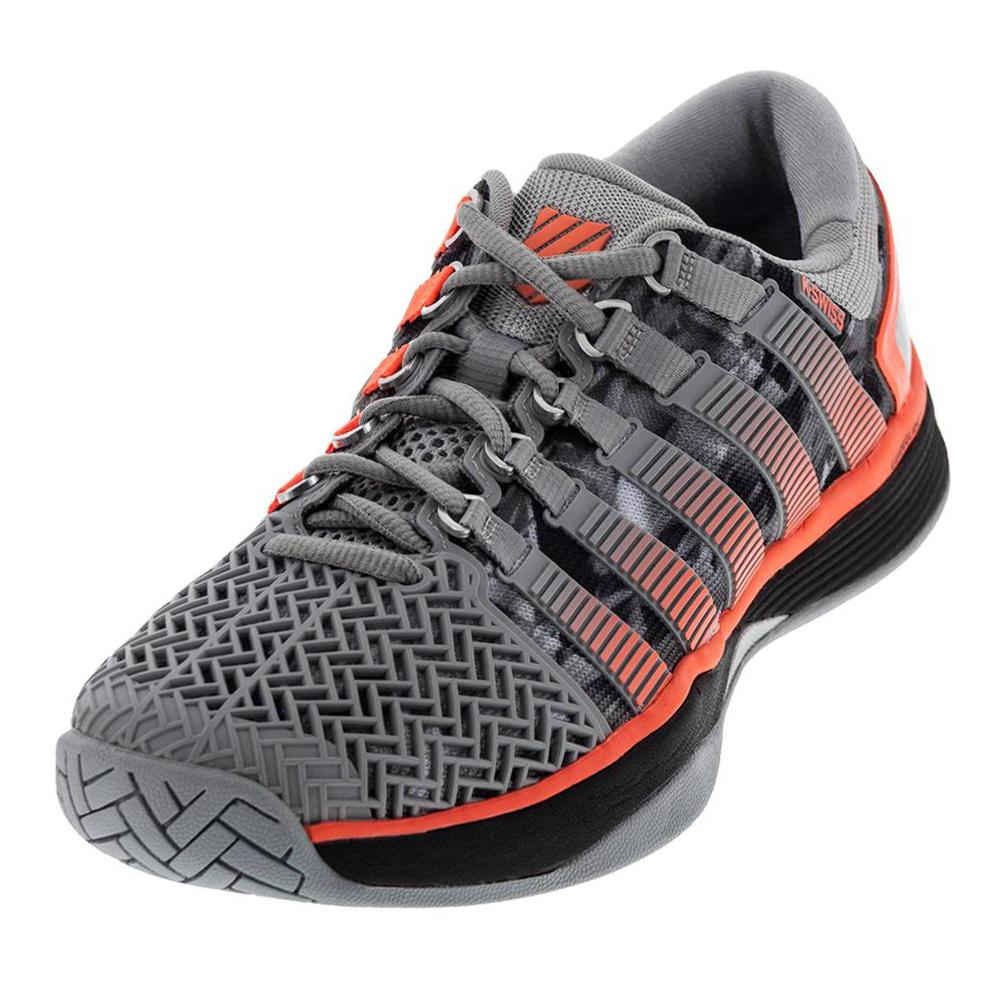 Men's Hypercourt 2.0 Tennis Shoes Highrise And Black