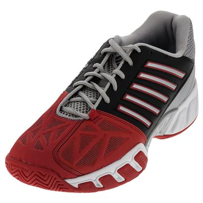 Men`s BigShot Light 3 Tennis Shoes Fiery Red and Black