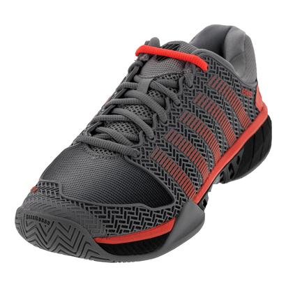 Men`s HyperCourt Express Tennis Shoes Highrise and Black