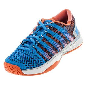 Women`s HyperCourt 2.0 Tennis Shoes Bonnie Blue and Fusion Coral