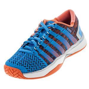 Women`s HyperCourt 2.0 Tennis Shoes Bonnie Blue and Fusion Coral