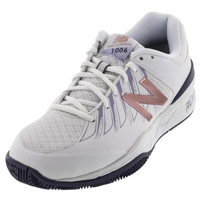 42a019e62430 SALE Women`s 1006v1 D Width Tennis Shoes White and Deep Cosmic Sky New  Balance ...