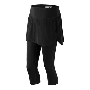 Women`s Stretch Woven 2 in 1 Tennis Skapri Black