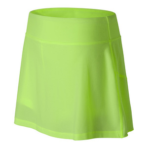 Women`s Casino Tennis Skort Lime Glo