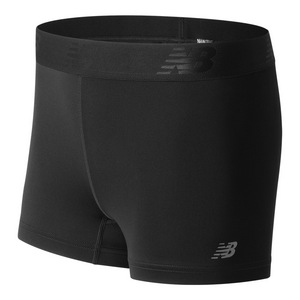 Women`s Accelerate Hot Tennis Short Black