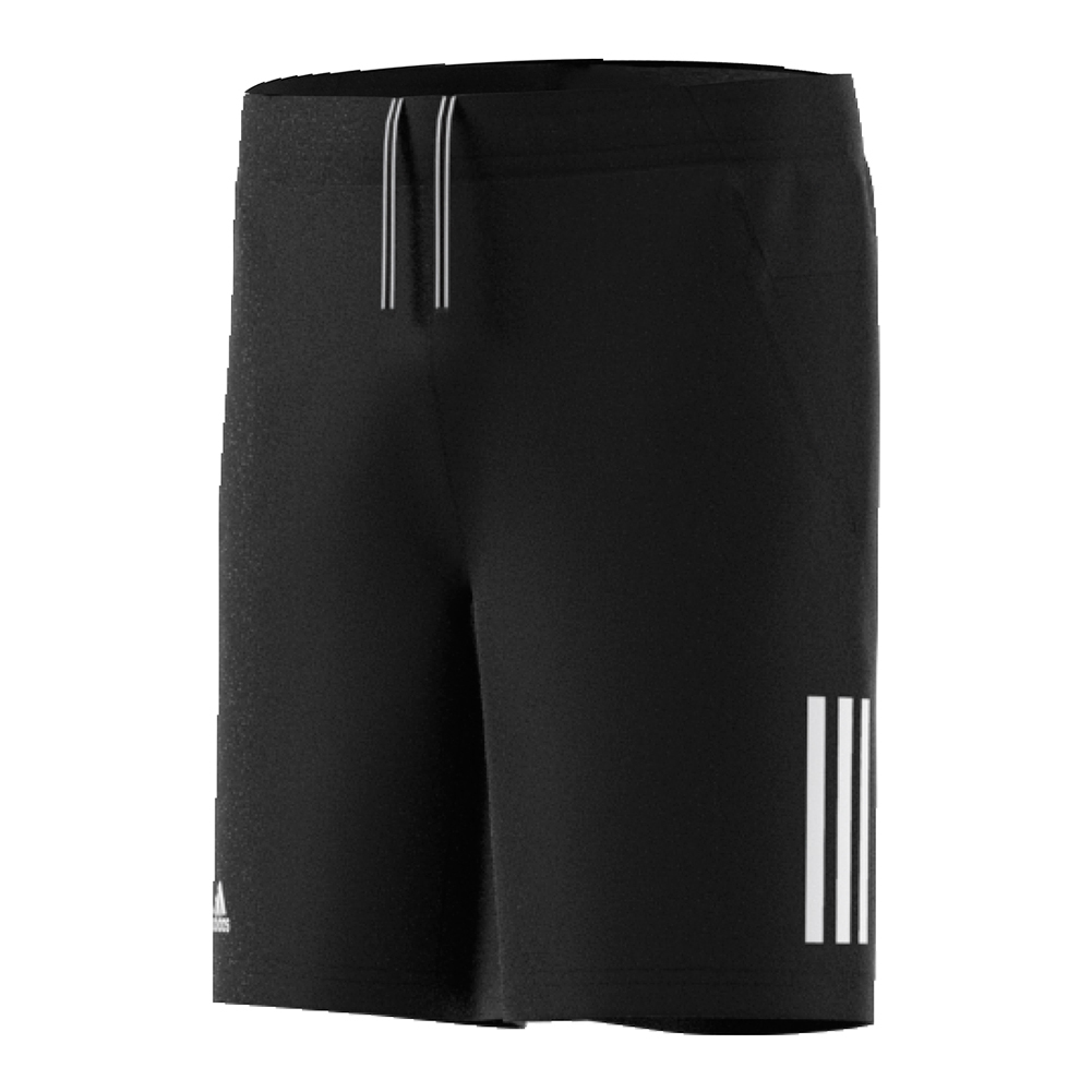 Boys ` Club Tennis Short Black And White