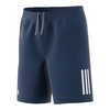 ADIDAS Boys` Club Tennis Short Mystery Blue and White