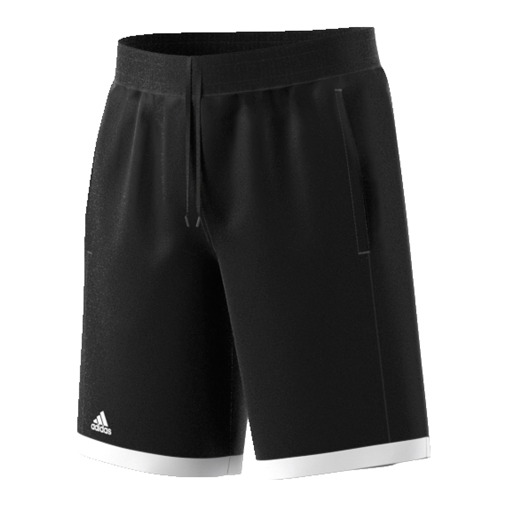 Boys ` Court Tennis Short Black And White