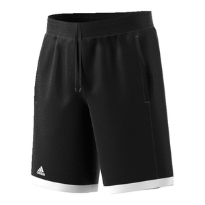 Boys` Court Tennis Short Black and White