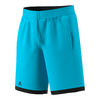 ADIDAS Boys` Court Tennis Short Samba Blue and Black