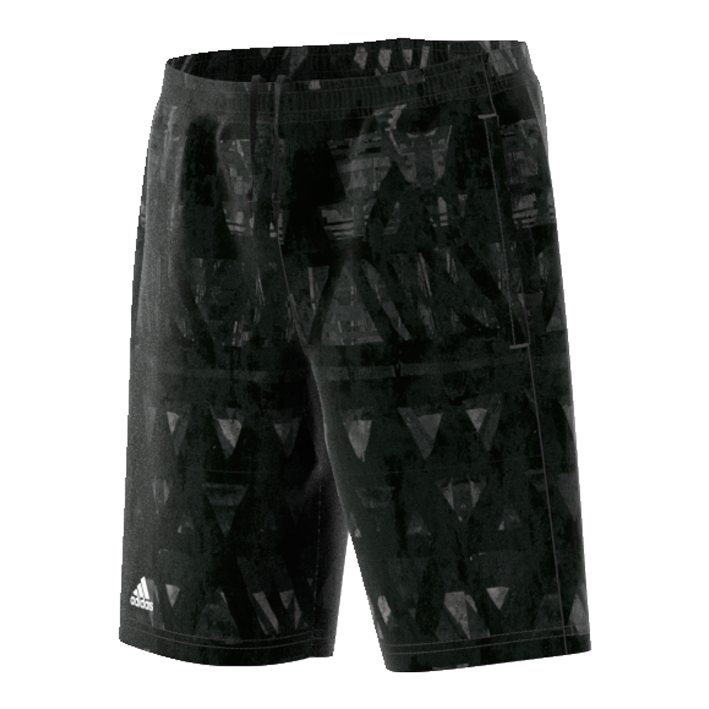Boys ` Essex Trend Bermuda Tennis Short Black And White