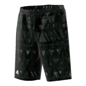 Boys` Essex Trend Bermuda Tennis Short Black and White